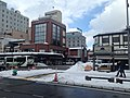 View in front of Takayama Station 20150123.JPG