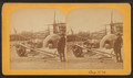 View of Pueblo cart and ovens, by Gurnsey, B. H. (Byron H.), 1833-1880.png