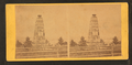 View of the monument for the Second Battle of Bull Run, from Robert N. Dennis collection of stereoscopic views.png