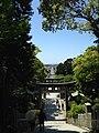 View of toriis and sando of Miyajidake Shrine 3.jpg