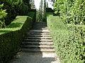Villa reale di marlia, grotta del dio pan, scalinata laterale.JPG