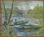 Vincent van Gogh - Fishing in Spring, the Pont de Clichy (Asnières) - 1965.1169 - Art Institute of Chicago.jpg