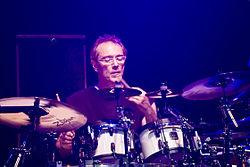 Vinnie Colaiuta in tour con Jeff Beck al Palais di Melbourne (2009)