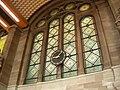 Vitrail et horloge du hall de départ de la gare SNCF de Strasbourg.jpg