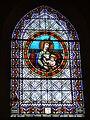 Vitrail signé G.P. Dragrant Bordeaux - Don de la famille Villenave - église de Poyartin.JPG
