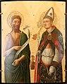 Vivarini - Saint Jean Baptiste et saint Louis de Toulouse.jpg