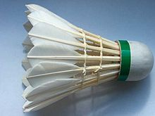 Poids volant badminton