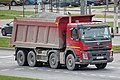 Volvo truck with gravel (Minsk).jpg