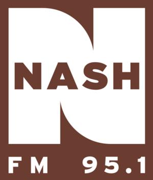 KATC-FM - Image: WFBE (Nash FM 95.1) logo