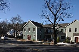 Deacon Daniel Green House - Image: Wakefield MA Deacon Daniel Green House