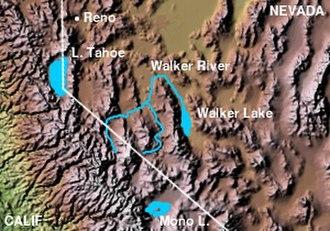 West Walker River - Image: Walker Lake