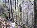 Wanderweg zur Burg in der Klause Deutschlandsberg.jpg