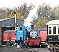 Wansford station - 'Thomas' - geograph.org.uk - 1560832.jpg