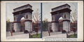 Washington Arch, one of the outstanding achievements of the late Stanford White, New York City, from Robert N. Dennis collection of stereoscopic views.png
