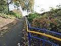 Wednesbury Parkway Tram Stop - path (24669382658).jpg