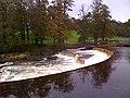 Weir on the River Ribble near Waddow Hall - geograph.org.uk - 1110992.jpg
