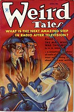 Weird Tales cover image for April 1935