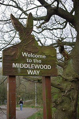 Welcome to the Middlewood Way - geograph.org.uk - 385561