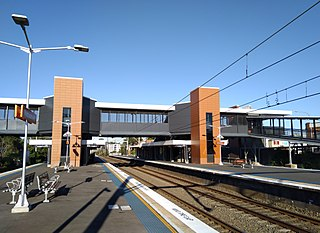 Wentworthville railway station railway station in Sydney, New South Wales, Australia
