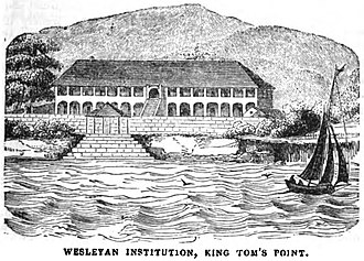 History of Sierra Leone - Wesleyan Institution, King Tom's Point (May 1853, X, p.57)
