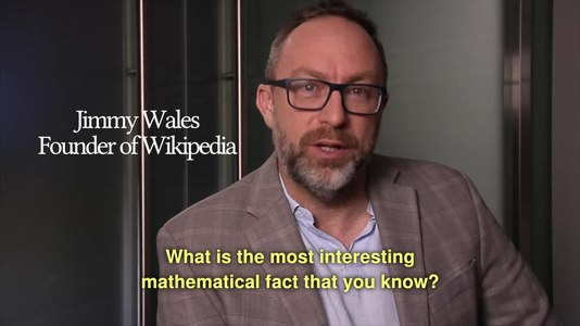 File:What is the most interesting mathematical fact that you know?.webm