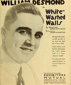 William Desmond (actor) - White-Washed Walls (1919)