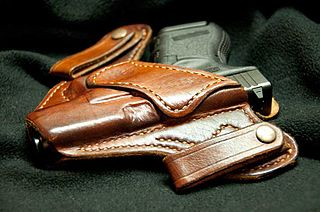 Concealed carry The practice of carrying a handgun or other weapon in public in a concealed or hidden manner