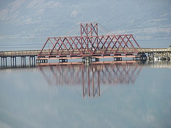White Pass and Yukon Route bridge in Carcross, Yukon 4.jpg