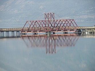 White Pass and Yukon Route bridge in Carcross, Yukon 4.jpg