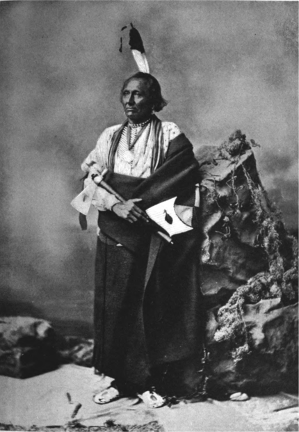 White Swan, Ponca Chief, 1877.png