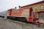 Wichita Falls Railroad Museum October 2015 11 (Missouri–Kansas–Texas EMD NW2 No. 1029).jpg