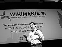 Wikimanía 2015 - Day 4 - Luis von Ahn conference - LMM (21).JPG