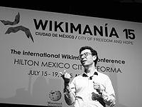 Wikimanía 2015 - Day 4 - Luis von Ahn conference - LMM (29).jpg