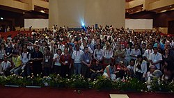 Wikimania 2008 - Closing Ceremony - WM2008 Group photo - 1.jpg