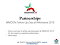 Wikimania 2015 - Workshop around partnerships (Follow-up WMCON 2015).pdf