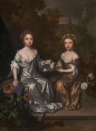 Willem Wissing - Image: Willem Wissing Portrait of Henrietta and Mary Hyde Google Art Project