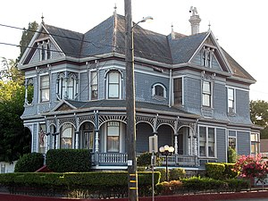 National Register of Historic Places listings in Napa County, California - Image: William Andrews House, 741 Seminary St., Napa, CA 9 5 2010 6 35 34 PM