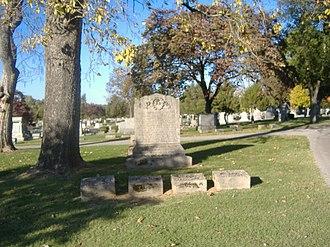 William F. Perry Monument - Image: William F. Perry Monument