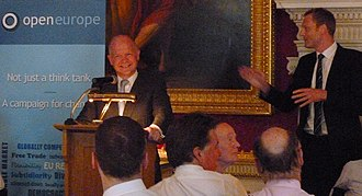 Open Europe - William Hague giving a speech to Open Europe on 16 July 2013
