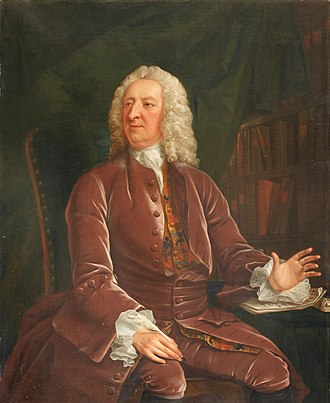 William King (St Mary Hall) - William King, 1750 portrait by John Michael Williams