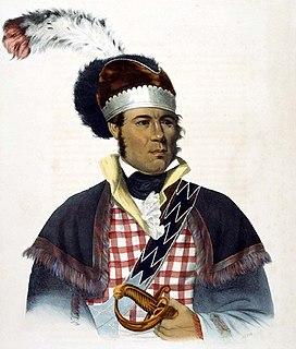 Muscogee chief