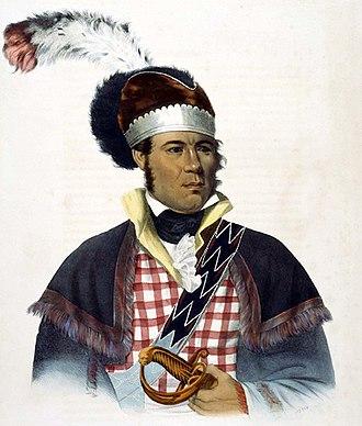 William McIntosh - William McIntosh, 1838 by Charles Bird King