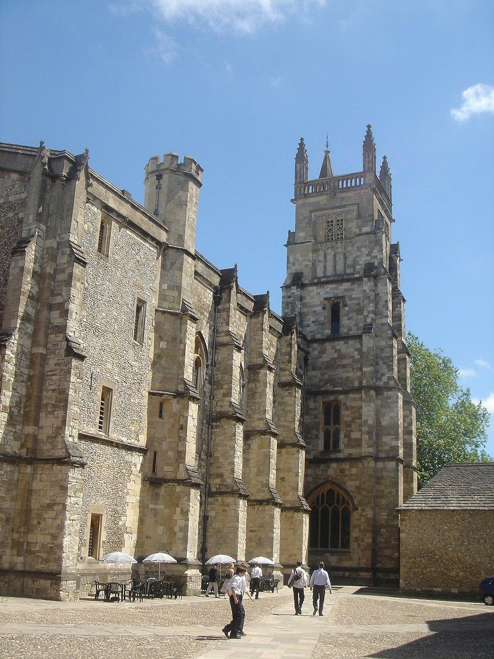 Winchester College Chapel