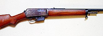 Winchester Model 1905 - Image: Winchester Self Loading Mod 05