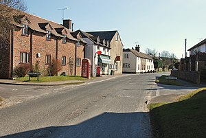 Winfrith Newburgh - The centre of Winfrith Newburgh