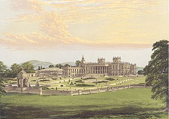 Witley Court - Witley Court in 1880