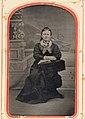 Woman in black, ca. 1856-1900. (4732548936).jpg