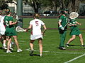 Women's lacrosse, William & Mary at Stanford 2009-03-08 1.JPG