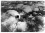Viewed from above the clouds, 1928