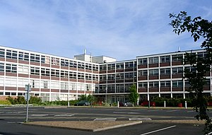 English: Worcester Sixth Form College. Built i...